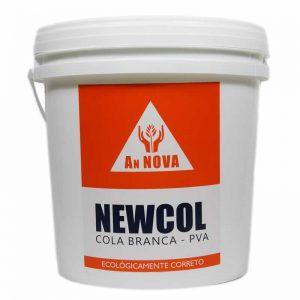NEWCOL Cola PVA (Cola Branca) – 4Kg